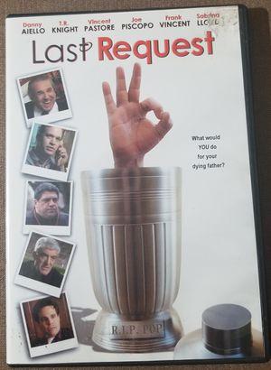 Last Request DVD movie stars Danny Aiello for Sale in Three Rivers, MI