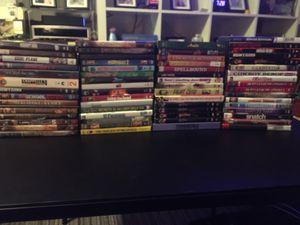 Huge lot 60+ DVD's $1 each for Sale in Fremont, CA