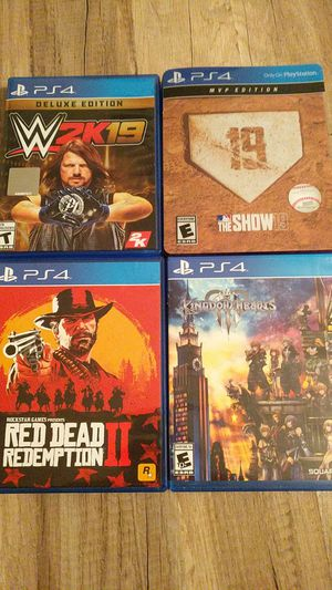 PS4 GAMES FOR SALE for Sale in Lakeland, FL