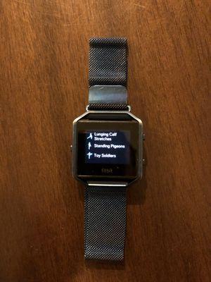 Fitbit blaze fitness watch for Sale in Renton, WA