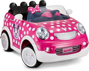 Disney Minnie Mouse Hot Rod Coupe Ride-On Toy by Kid Trax, 12 Volt, pink for Sale in Denver, CO