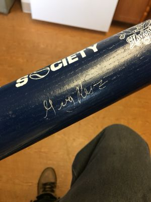 Louisville slugger Signed by Manny Ramirez for Sale in East Haven, CT