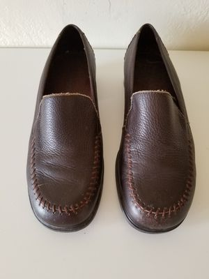 Rockport Women's Loafers Size 8.5 Leather Shoes Casual Work for Sale in Colton, CA