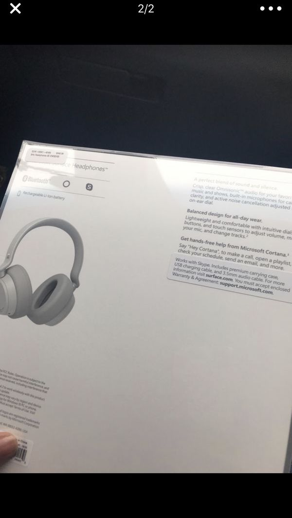 Microsoft Surface Wireless Headphones