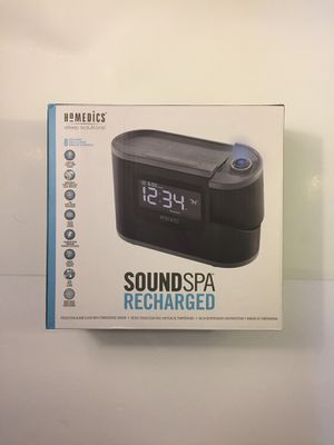 HoMedics SoundSpa Recharged alarm clock. for Sale in Harrison, MI