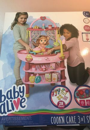 Baby Alive Cook'N Care for Sale in San Jose, CA