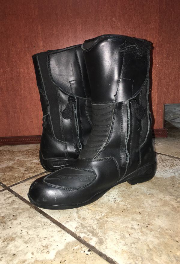 Women's TCX motorcycle boots size 6