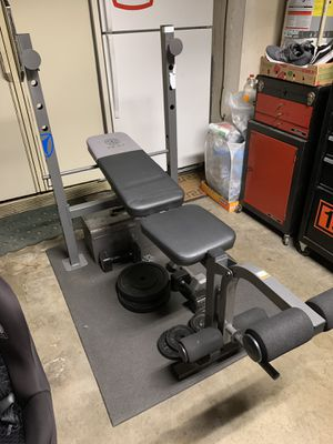 Gold's Gym XR 6.1 workout bench for Sale in West Covina, CA