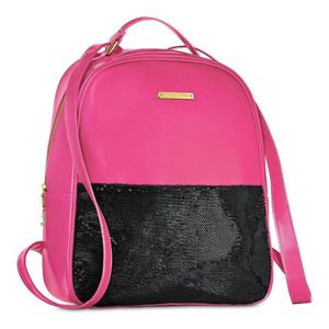 Juicy couture NEW with tags black & pink sequin backpack for Sale in Austin, TX