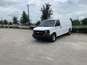 2013 Chevy express G3500 Cargo van long wheelbase for Sale in Houston, TX