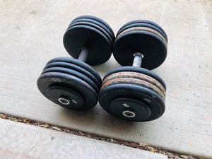 90lbs Dumbbells - Pro Style - Weights - Gym Equipment - Work Out for Sale in Downers Grove, IL