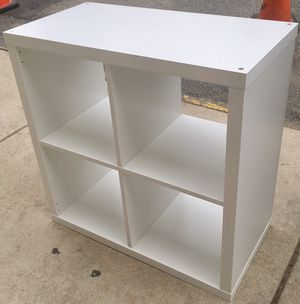 White 2x2 Cubby Bookcase for Sale in Philadelphia, PA