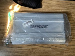 Audiobank amplifier for Sale in Modesto, CA