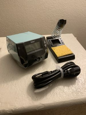 Weller WE1010 Digital Soldering Station 70W NEW never used weller power unit Does not include the soldering pen NEW for Sale in Hialeah Gardens, FL