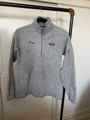 Patagonia better sweater 3/4 zip pullover for Sale in Monterey Park, CA