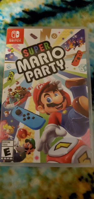 Super Mario Party for Nintendo Switch for Sale in Everett, WA