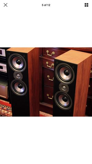 Polk Audio Cherry monitor 50 series ii floor speakers for Sale in Kissimmee, FL