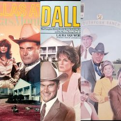 Dallas Vintage TV Series Books 2 for Sale in Waco,  TX