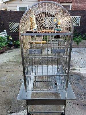Stainless Steel Bird Cage Extra Large for Sale in Secaucus, NJ