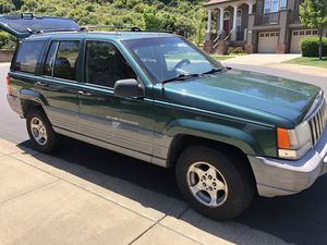 Forest green 1998 jeep grand cherokee laredo for Sale in San Bruno, CA