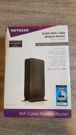 Netgear Wifi Modem/Router 300mbps for Sale in Hazard, CA