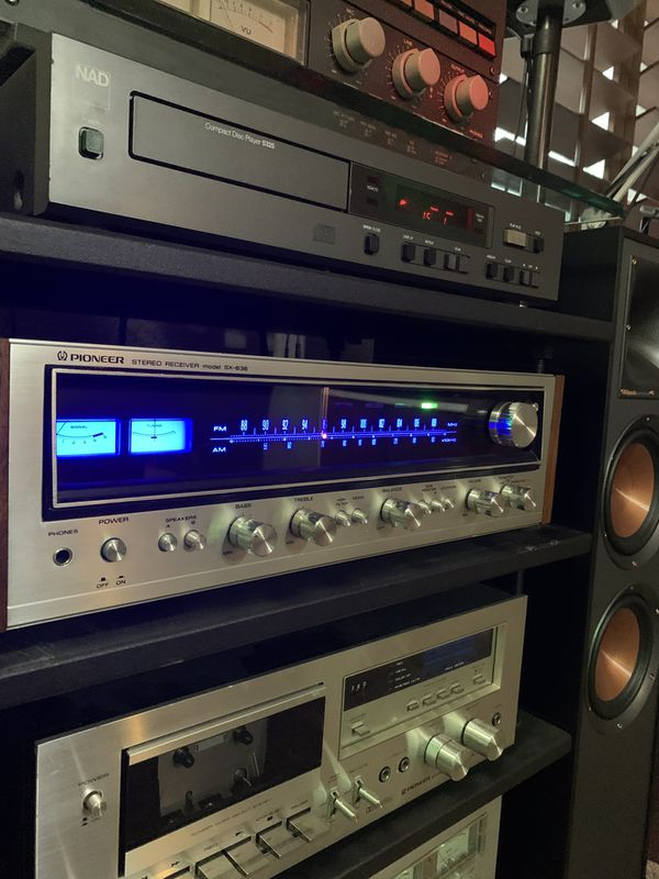 Vintage Pioneer SX-636 stereo receiver