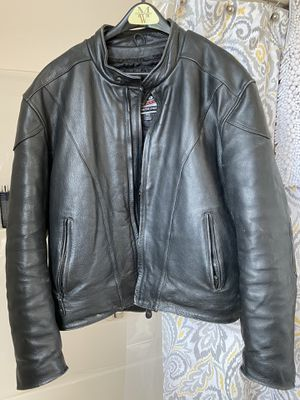 Leather Motorcycle jacket for Sale in East Wenatchee, WA