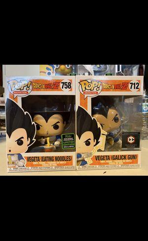 Funko! Pop DBZ Vegeta bundle exclusives for Sale in Los Angeles, CA