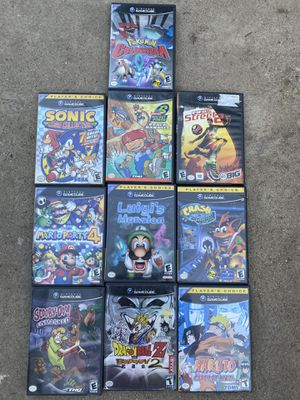 GameCube Games (Sonic, Mario Party, DBZ) for Sale in Los Angeles, CA