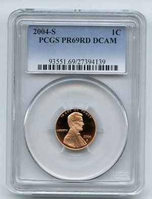 2004 S 1C Lincoln Cent PCGS PR69DCAM for Sale in Oakland, CA