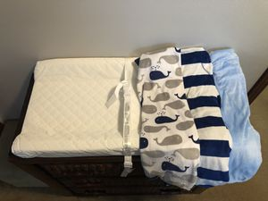 Changing pad & 3 covers-EUC- pet and smoke free home for Sale in Millsboro, DE
