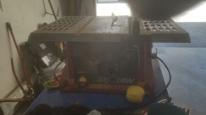 Skill saw table saw for Sale in Los Angeles, CA