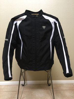 Motorcycle JACKET FOR WOMEN Triumph DRIFT Size Medium Black for Sale in North Las Vegas, NV