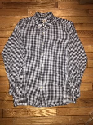 Men's Med J.Crew Slim Fit Plaid J. Crew Button Front for Sale in Woburn, MA
