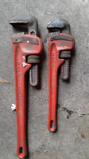 pipe wrench for Sale in Houston, TX