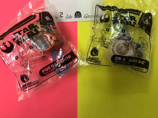 McDonald's Happy Meal Toys-BUNDLE-2019 Star Wars