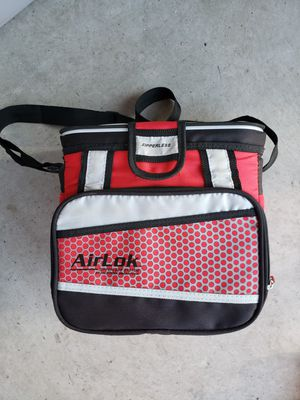 Red zippered Lunch box for Sale in Traverse City, MI