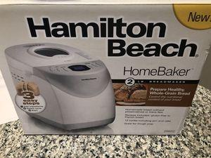 Hamilton Beach Homebaker bread maker for Sale in Round Rock, TX