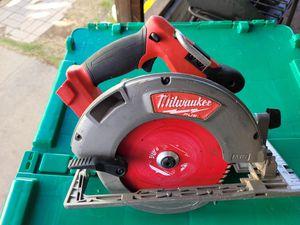 Milwaukee M18 Fuel 2731-20 7 1/4 circular saw for Sale in La Mesa, CA