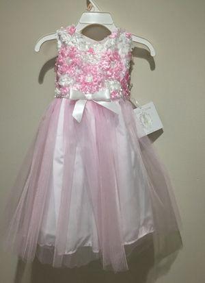 Toddler Girls 2T Flower Girl Dress for Sale in Pickerington, OH