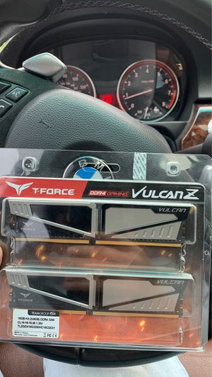 16gb Ram Sticks Vulcan TeamGroup for Sale in Fife, WA