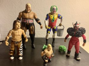 WWE ACTION FIGURES /+ MINI FIGURE ( WWE ELITE COLLECTION) for Sale in San Marcos, CA