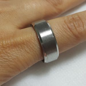 Beautiful Stainless Steel Silver Ring Band For Men Women Ring Ring Size: 10.50 Thickness: 9mm - RGN -101 *Shipping Only* for Sale in Queens, NY