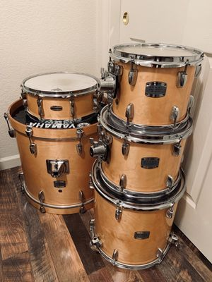 Drums , Cymbals and hardware like new for Sale in Modesto, CA