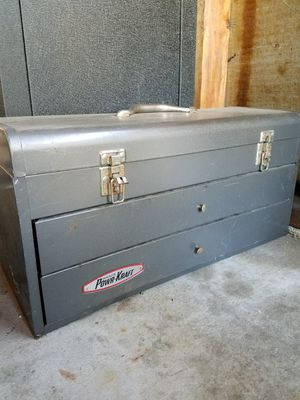 Power Kraft tool box for Sale in Hanover Park, IL