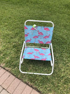 BRAND NEW - Folding Beach Chair for Sale in Lake Worth, FL