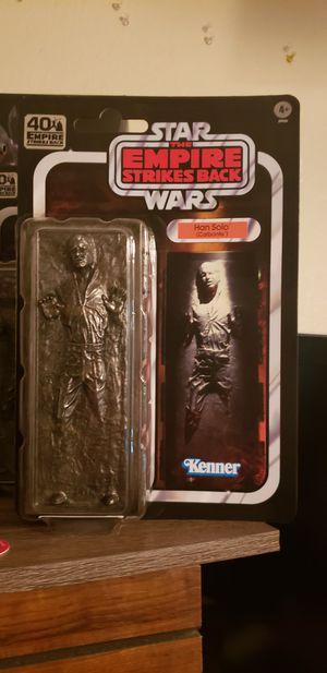 Star Wars Black Series Han Solo in Carbonite for Sale in Moreno Valley, CA