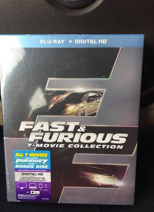 All 7 Fast & Furious MOVIES IN ONE BLU-Ray for Sale in Cleveland, OH
