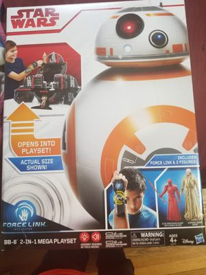Disney Star Wars BB-8 Force Link 2 in 1 Mega Playset for Sale in Chicago, IL