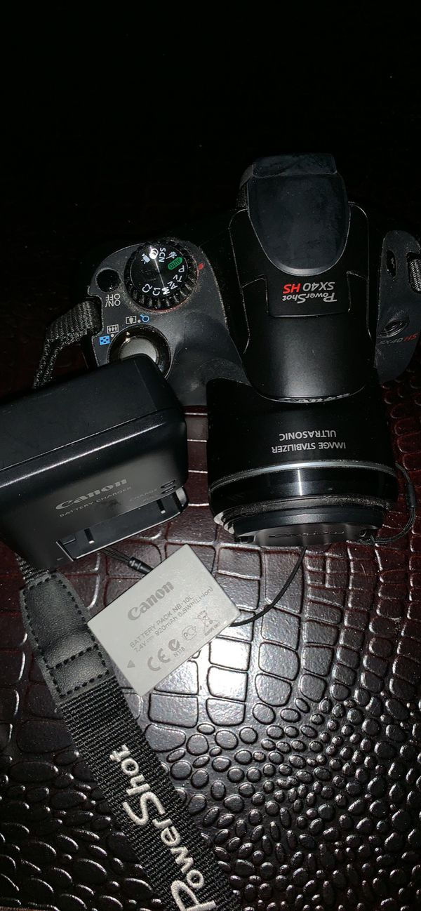 Canon Powershot SX 40 Point and Shoot Camera